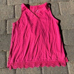 🌟3 FOR $20 🌟 Crochet Trim Top